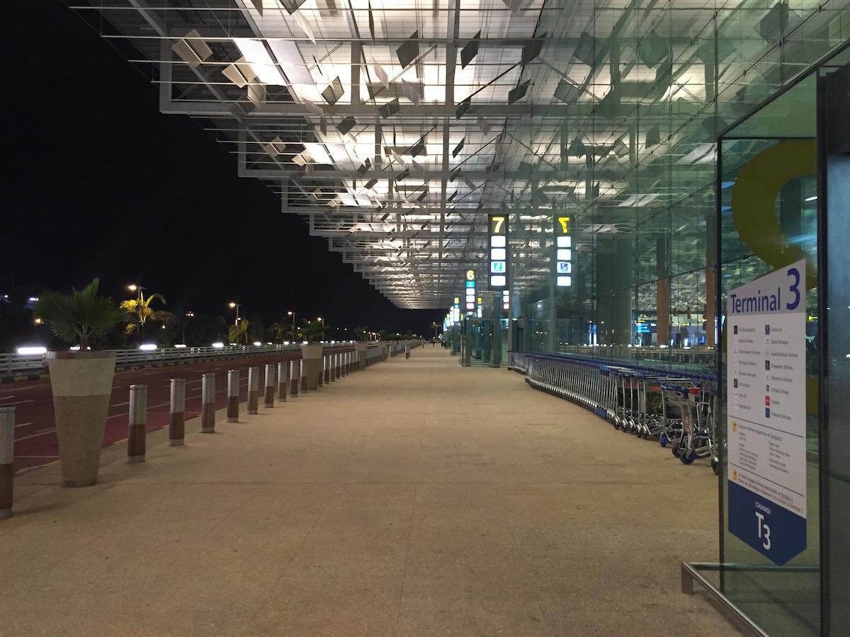 Singapore departures level