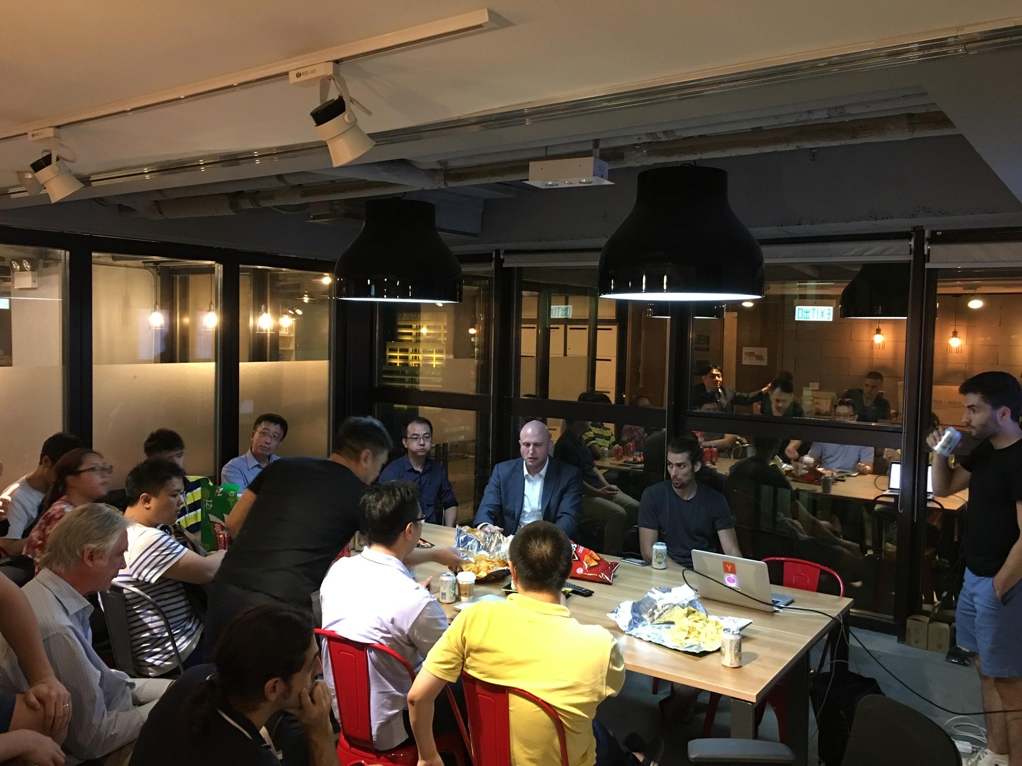 First Blockstack Meetup in Hong Kong.