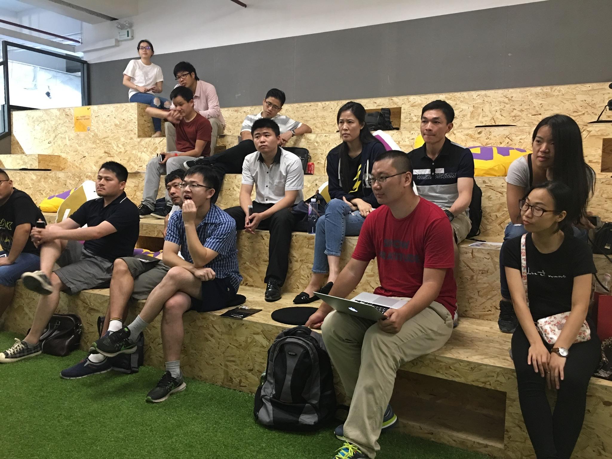 First Blockstack Meetup in Shenzhen.